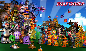 FNaF World 2: A Bright Menace
