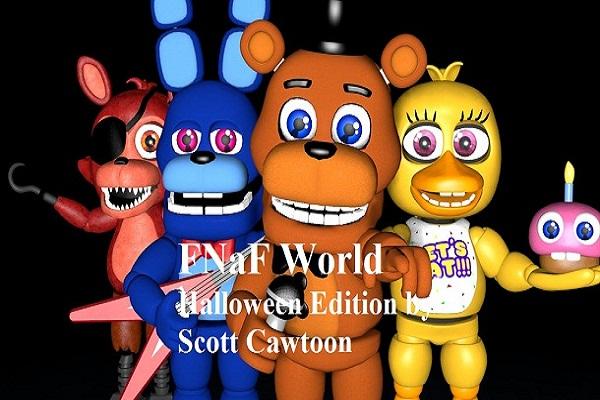FNaF World Halloween Edition by Scott Cawtoon